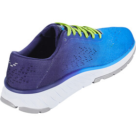 Hoka One One Cavu 2 Laufschuhe Herren french blue/lime green